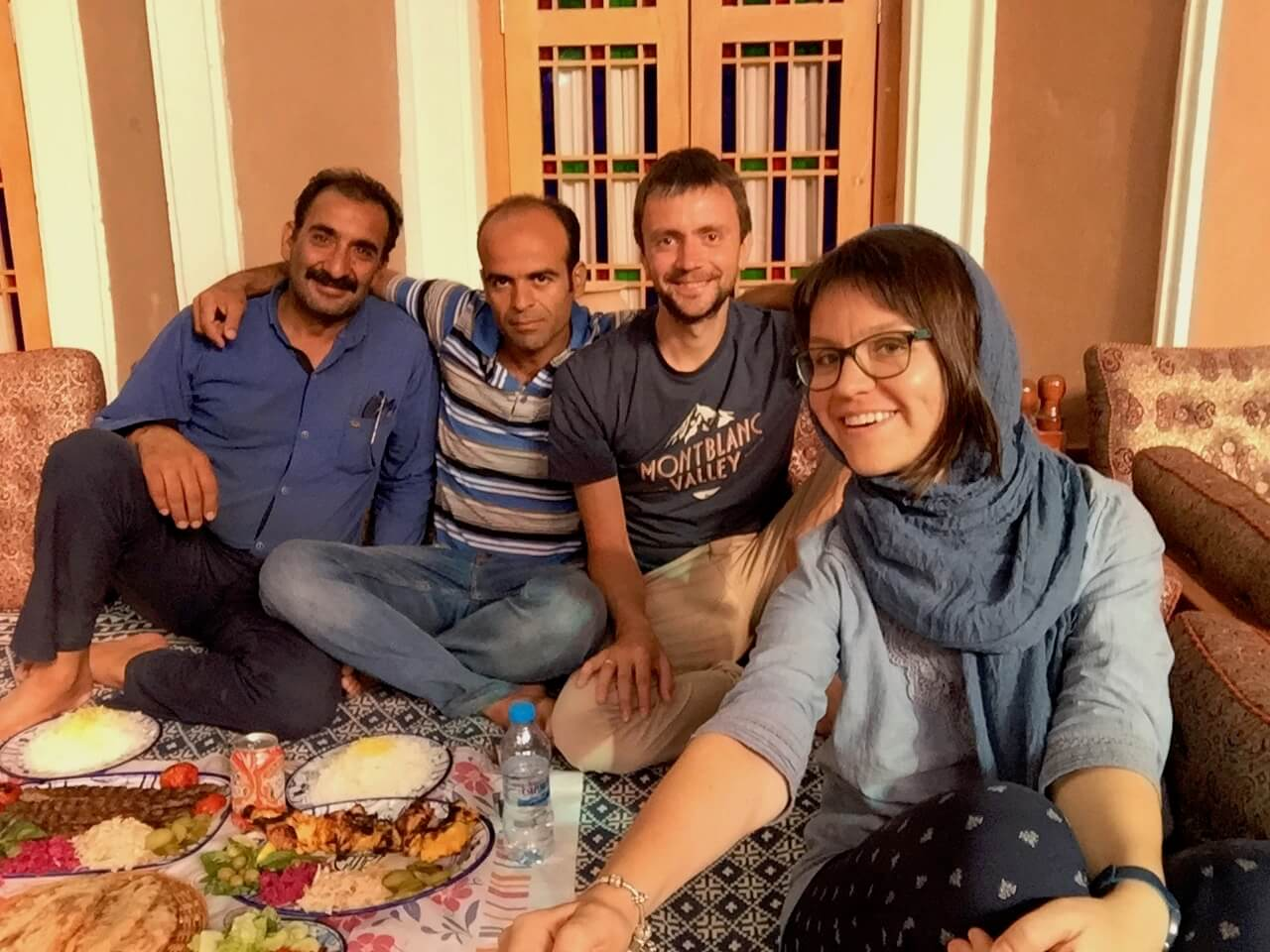 Meeting people in Iran