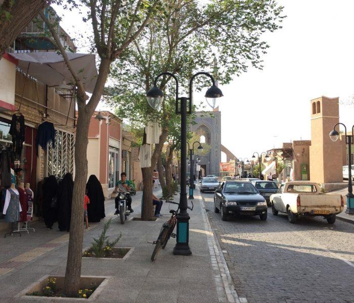 Streets of Yazd, Iran