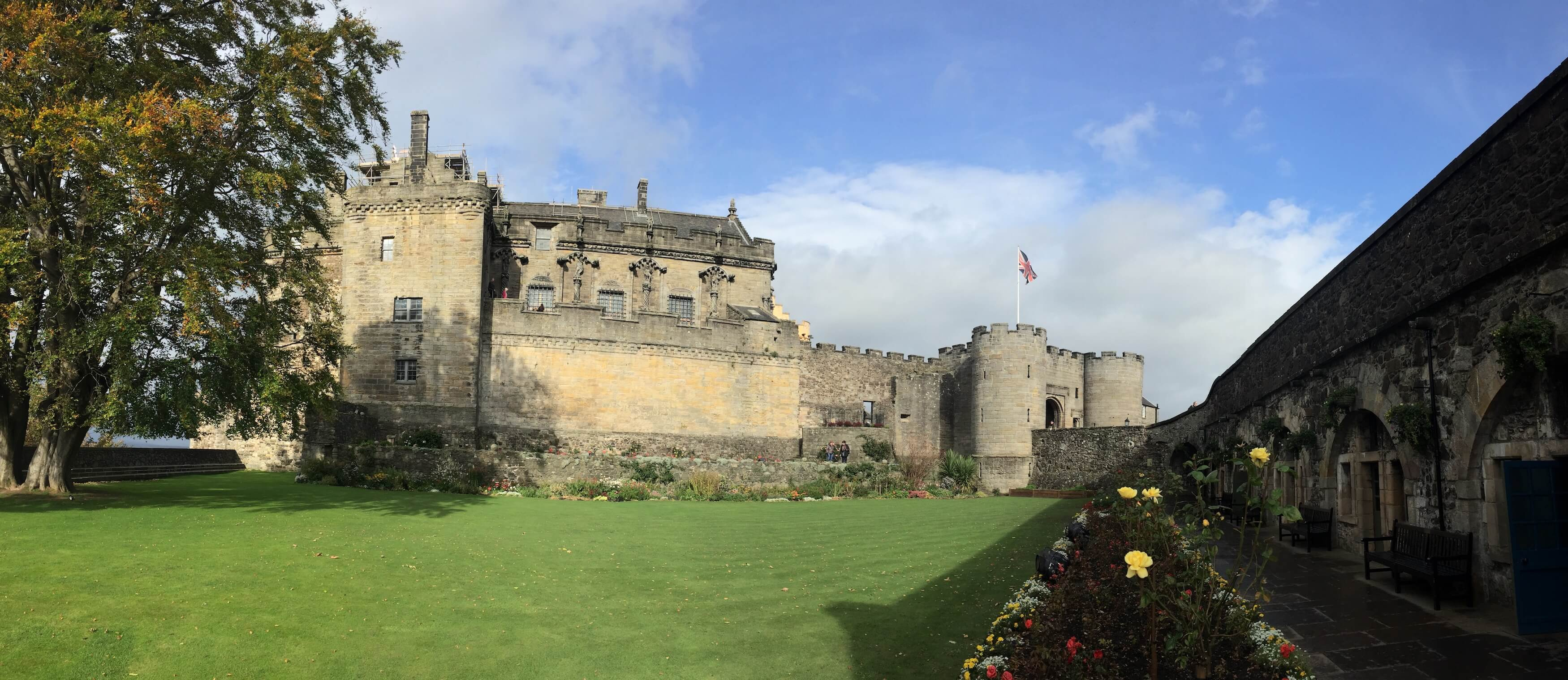 Stirling Castle Outside