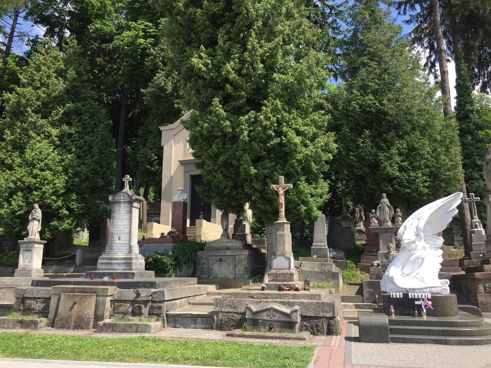 Lychakivski cemetery in Lviv