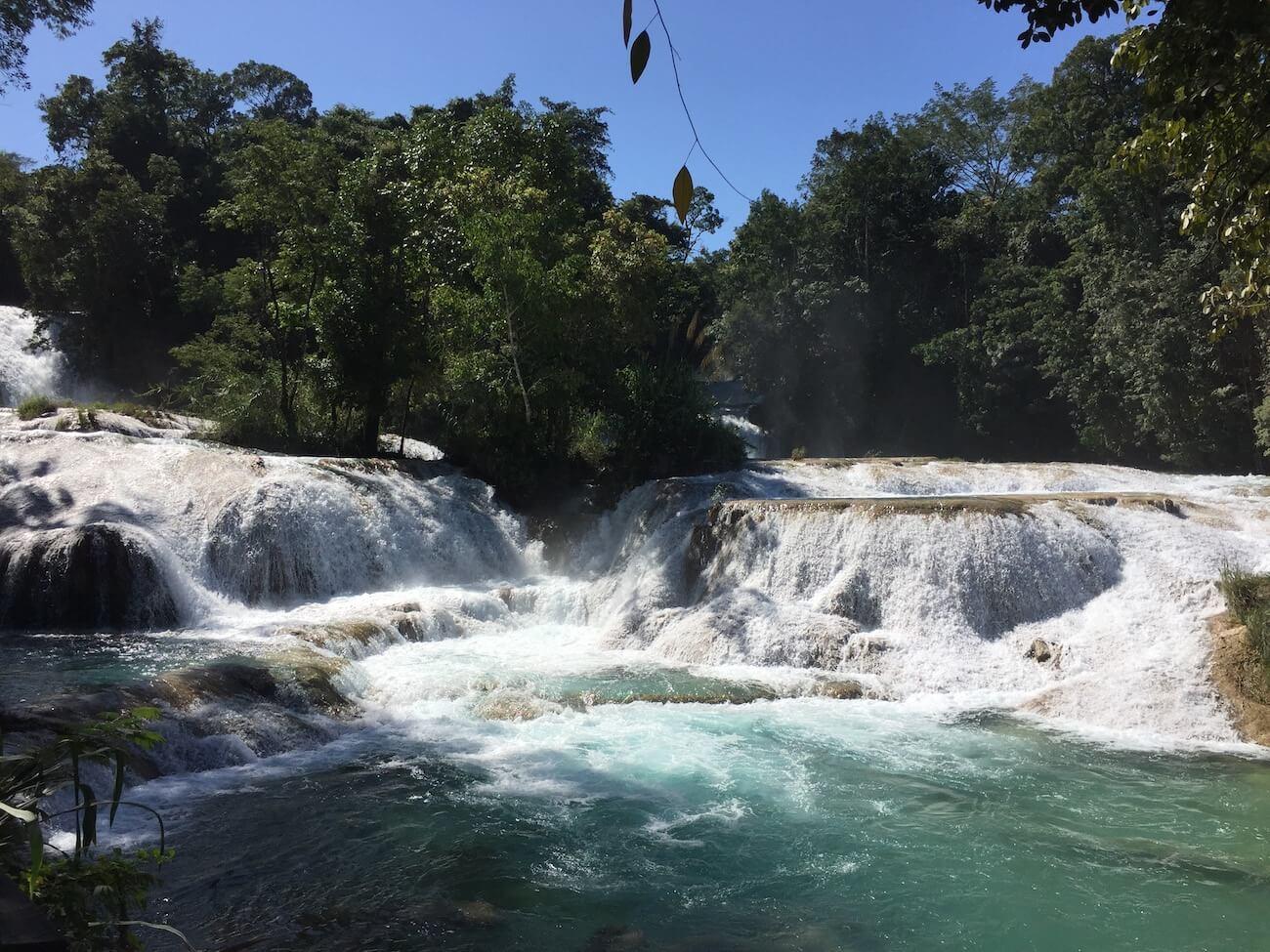 Agua Azul waterfalls