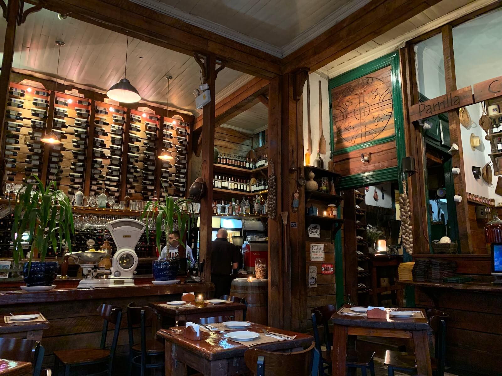 Restaurant Patagonica Sur in Lastarria