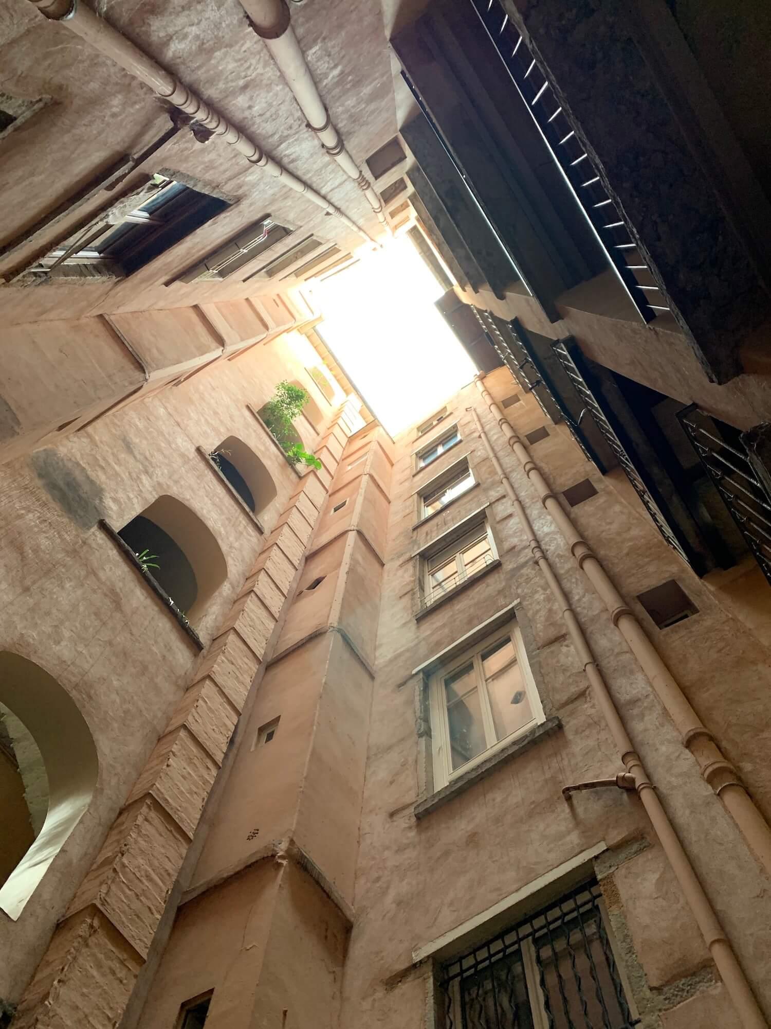 Traboules in Lyon