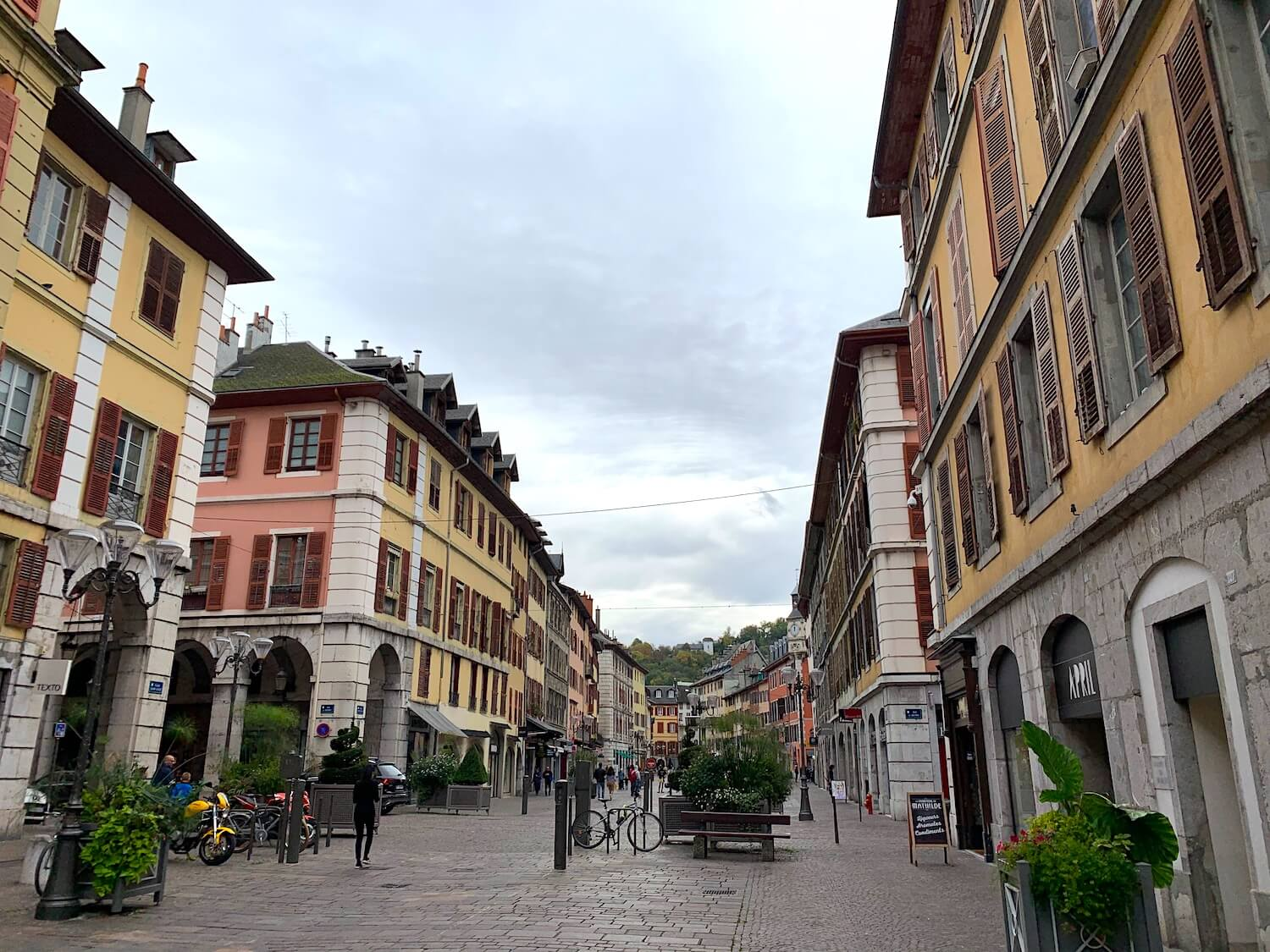 Chambery streets