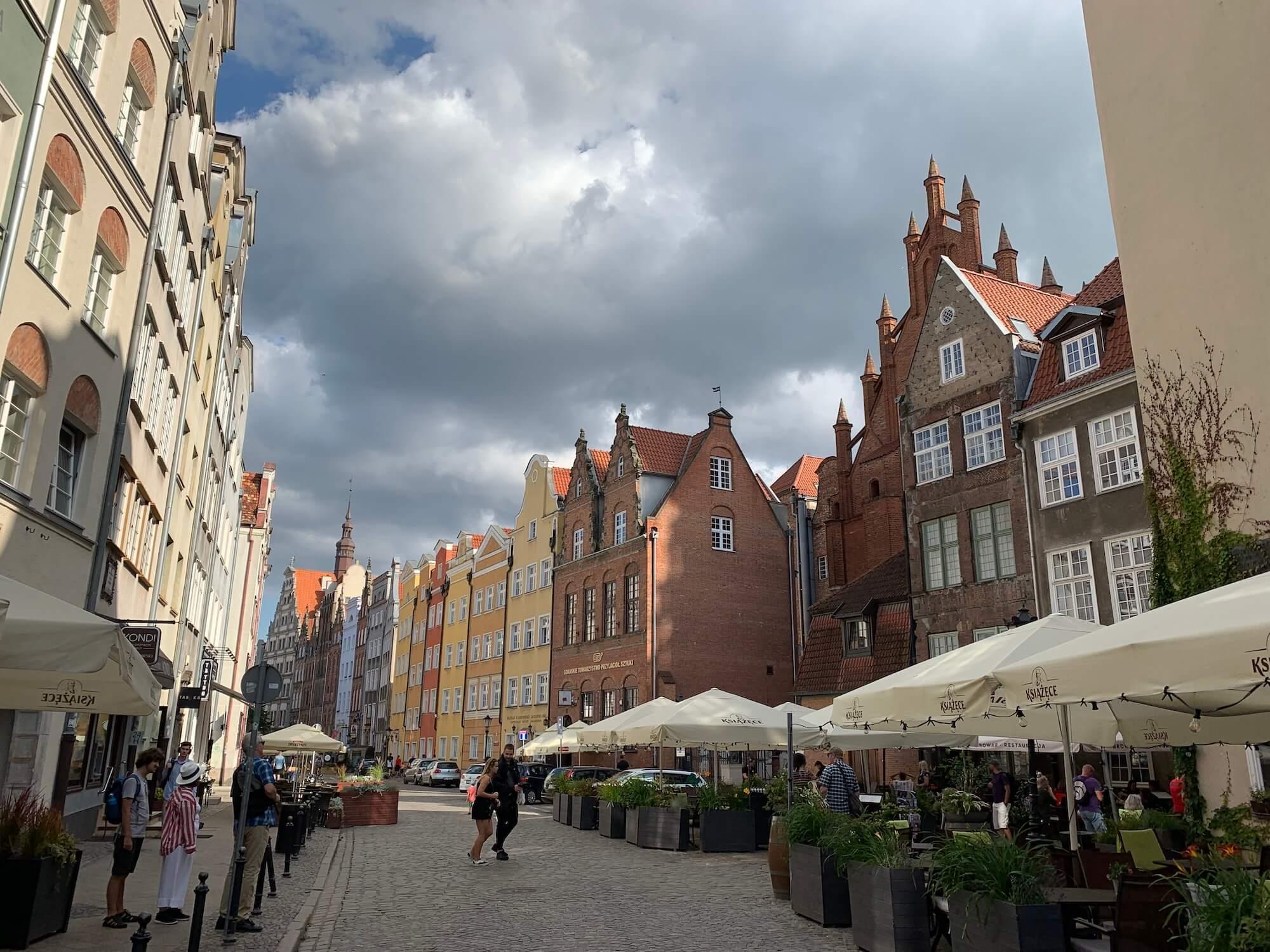Main town Gdansk