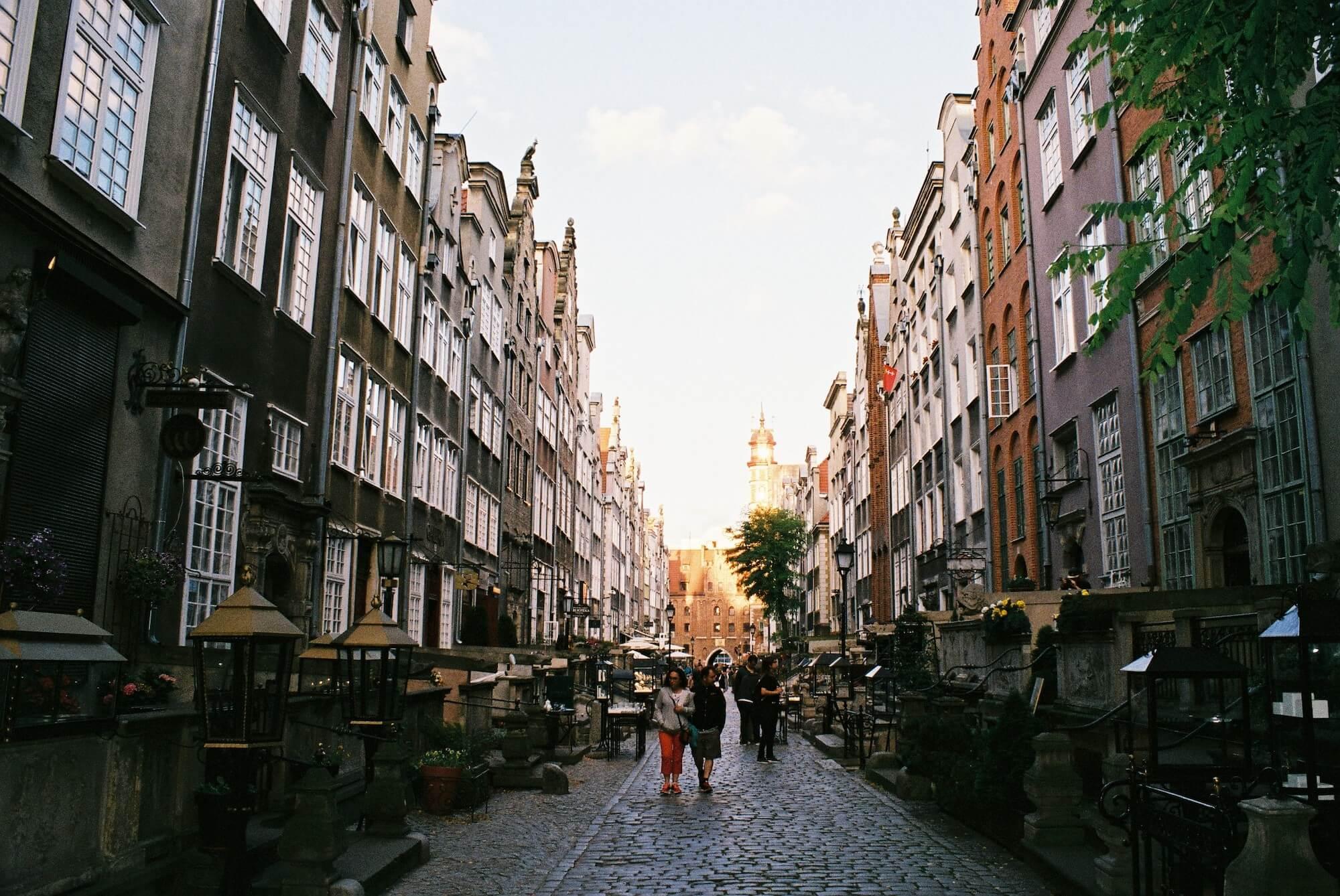 Mariacka street Gdansk